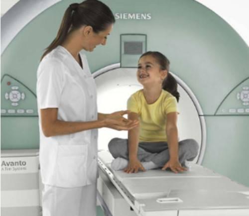 Выполнение МРТ ребенку
